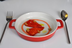 quique dacosta red pepper watermelon