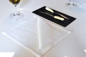 mugaritz edible linen napkin