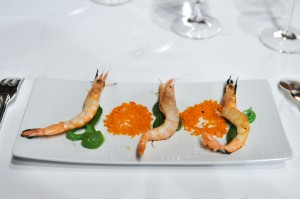 Restaurante Akelaŕe akelare akelarre prawns and french beans