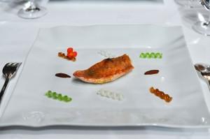 Restaurante Akelaŕe akelare akelarre red mullet fusili sauce