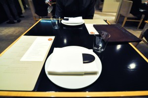 benu san francisco table setting