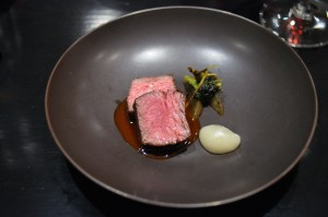 benu san francisco beef rib pear broccoli burdock
