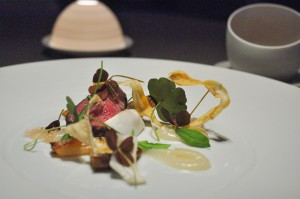 grace chicago grilled wagyu beef matsutake salsify