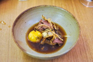 aska roots egg yolk lamb