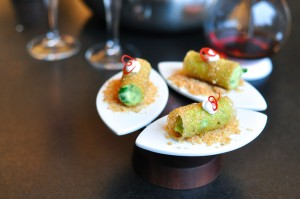 aviary chicago corn guacamole cannoli