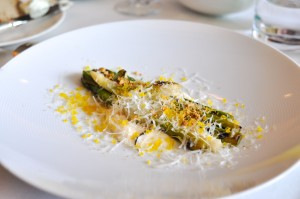blackbird chicago asparagus