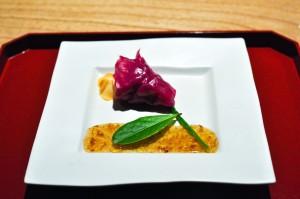kajitsu camellia flower plate