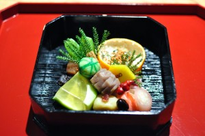 kajitsu new year osechi box