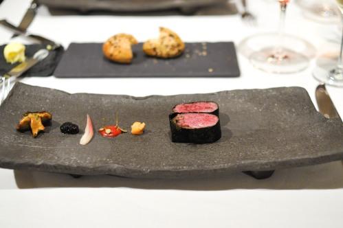 aubergine carmel kagoshima wagyu beef