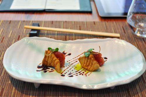 kinoshita sao paulo tuna foie gras