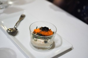 blue hill yogurt carrot sorbet