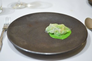 blue hill clams peas lardo