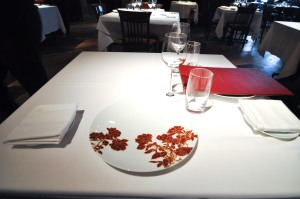 gramercy tavern table setting