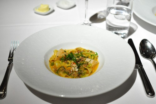 gramercy tavern lobster pappardelle