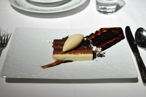 gramercy tavern chocolate banana slice