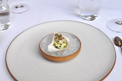 eleven madison park oyster vichyssoise