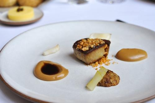 emp foie gras hazelnut sunchoke