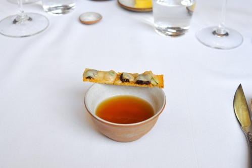 eleven madison park duck broth sausage