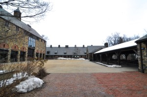 blue hill stone barns winter