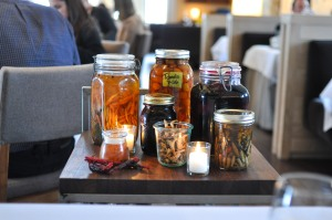blue hill stone barns winter cart