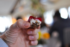 blue hill stone barns beet sushi