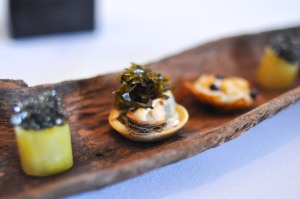 blue hill stone barns mussel seaweed