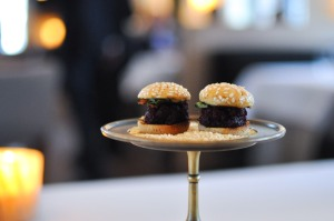 blue hill stone barns beet burger