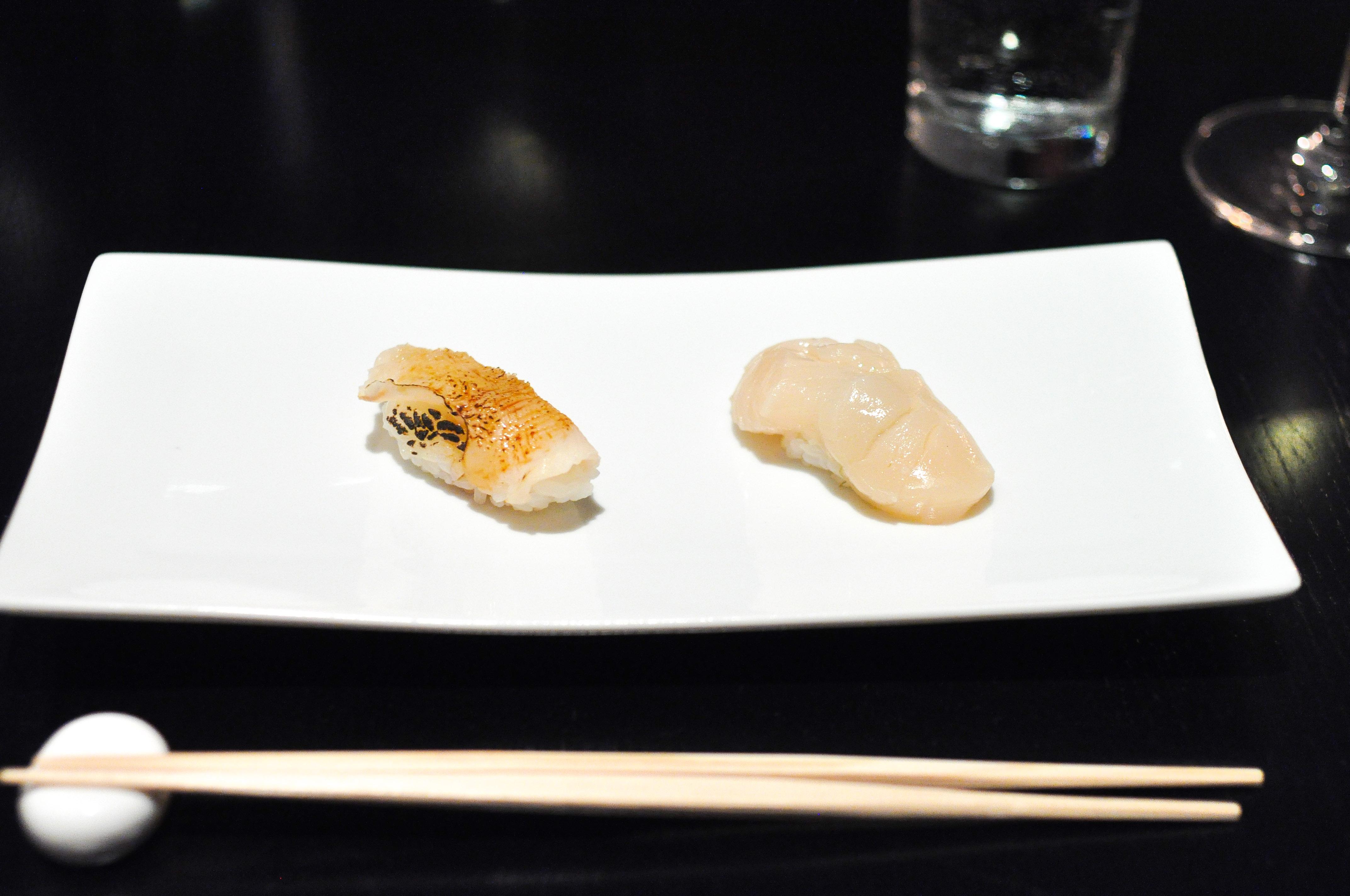 Sushi Nakazawa Dining Room Menu