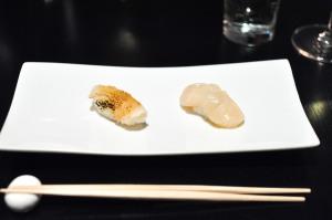 sushi nakazawa scallop geoduck
