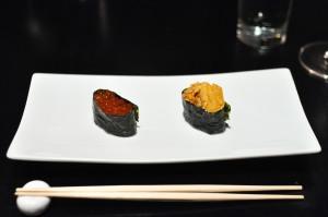 sushi nakazawa uni salmon roe