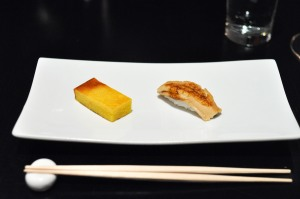 sushi nakazawa eel tamago