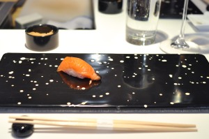 sushi nakazawa smoked blackmouth chinook
