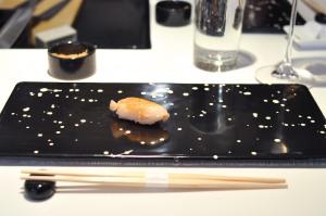 sushi nakazawa giant clam geoduck
