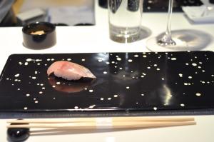 sushi nakazawa horse mackerel