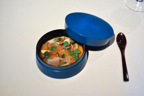 manresa abalone milk panna cotta