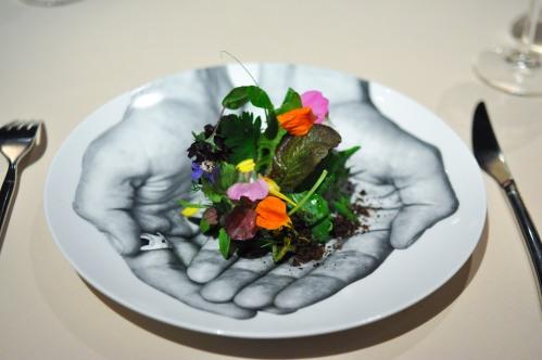 manresa into the vegetable garden