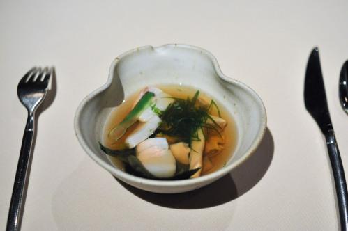 manresa summer clams beans pine mushroom