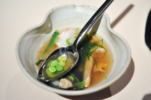 manresa clams beans mushroom