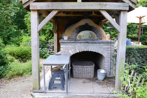 in de wulf brick oven