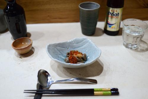 okonomi ikura soba orecchiette
