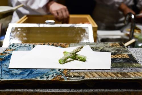 tempura matsui asparagus