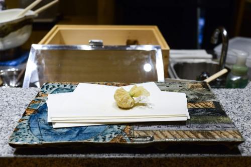 tempura matsui tofu uni